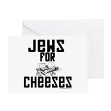 Jews for Cheeses Greeting Card