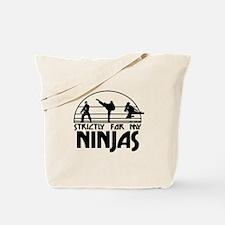 strictlyNinjas3.png Tote Bag