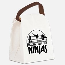strictlyNinjas3.png Canvas Lunch Bag