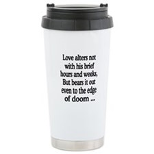 Cute Sonnets Travel Mug