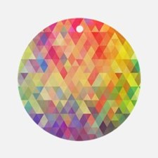 Prism Round Ornament