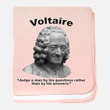 Voltaire Questions baby blanket
