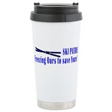 Cute Ski patrol Travel Mug