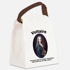 Voltaire Pray Canvas Lunch Bag