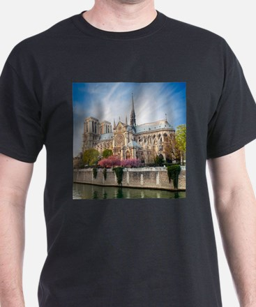 Notre Dame Cathedral T-Shirt