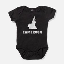 Cameroon Silhouette Baby Bodysuit