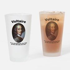 Voltaire Laws Drinking Glass