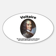 Voltaire Laws Decal