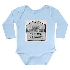 Unique Friday the 13th Long Sleeve Infant Bodysuit