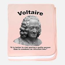 Voltaire Innocent baby blanket