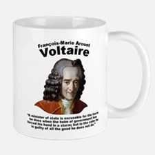 Voltaire Excusable Mug