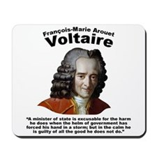 Voltaire Excusable Mousepad