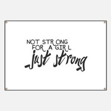 Just Strong Banner
