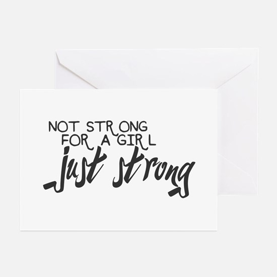 Just Strong Greeting Cards (Pk of 20)