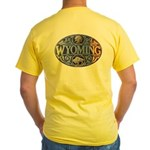 WYOMING Yellow T-Shirt