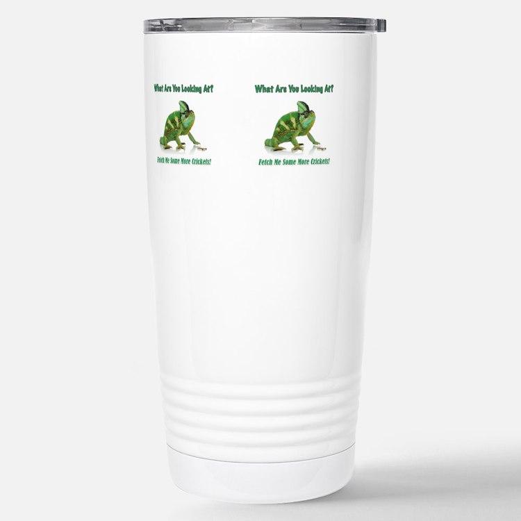 Cute Chameleon Travel Mug