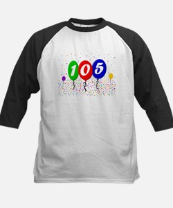 105th Birthday Kids Baseball Jersey