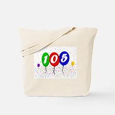 105th Birthday Tote Bag