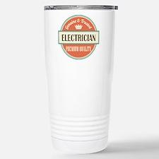 electrician vintage log Travel Mug