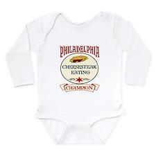 Unique Philadelphia Long Sleeve Infant Bodysuit