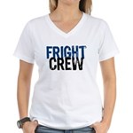 Fright Crew Halloween Women's V-Neck T-Shirt