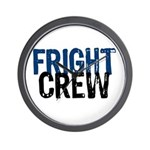Fright Crew Halloween Wall Clock