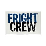 Fright Crew Halloween Rectangle Magnet