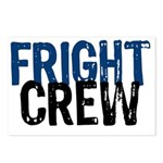 Fright Crew Halloween Postcards (Package of 8)