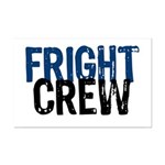 Fright Crew Halloween Mini Poster Print