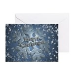 Snow Flake (pk Of 10) Greeting Cards