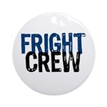 Fright Crew Halloween Ornament (Round)