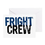 Fright Crew Halloween Greeting Card