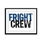 Fright Crew Halloween Framed Panel Print