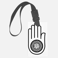 Cute Hand of peace Luggage Tag