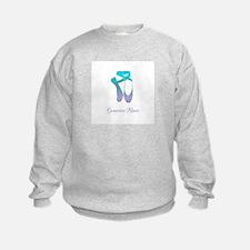 Team Pointe Ballet Ocean Personali Sweatshirt