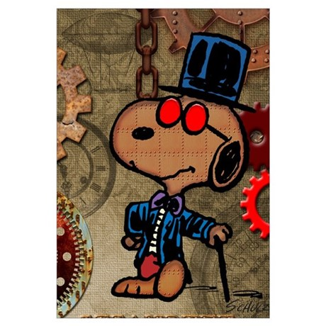 Snoopy   Steampunk Wall Art Part 57