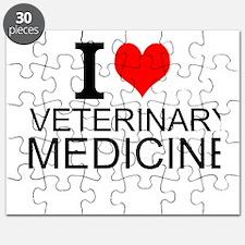 I Love Veterinary Medicine Puzzle