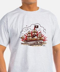 Peanuts All Hands on Deck T-Shirt