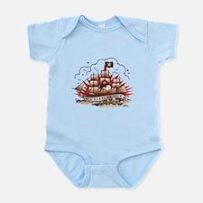 Peanuts All Hands on Deck Infant Bodysuit