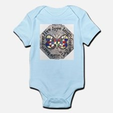WORDS TO LIVE BY Infant Bodysuit