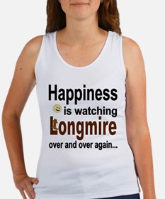 Happiness Is Watching Longmire Tank Top