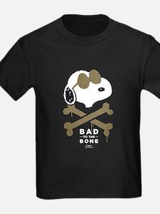 Peanuts Bad to the Bone T