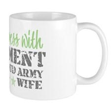 Funny Military spouse Mug