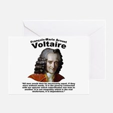 Voltaire Equality Greeting Card