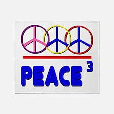 Peace Trio Throw Blanket