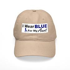 I Wear Blue 3 (Aunt CC) Baseball Cap