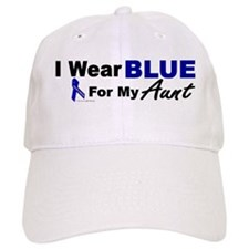 I Wear Blue 3 (Aunt CC) Baseball Cap