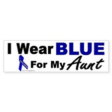 I Wear Blue 3 (Aunt CC) Bumper Bumper Sticker