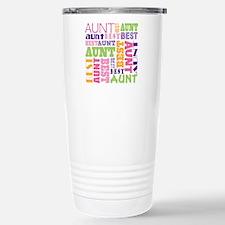 Unique Aunt Travel Mug