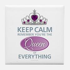 Keep Calm - Queen Tile Coaster